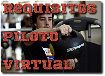 Requisitos piloto virtual