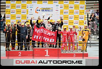 La GT Academy gana en Dubai
