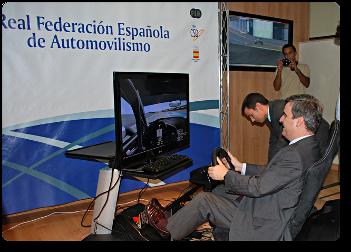 La Federación Española de Automovilismo y la simulación